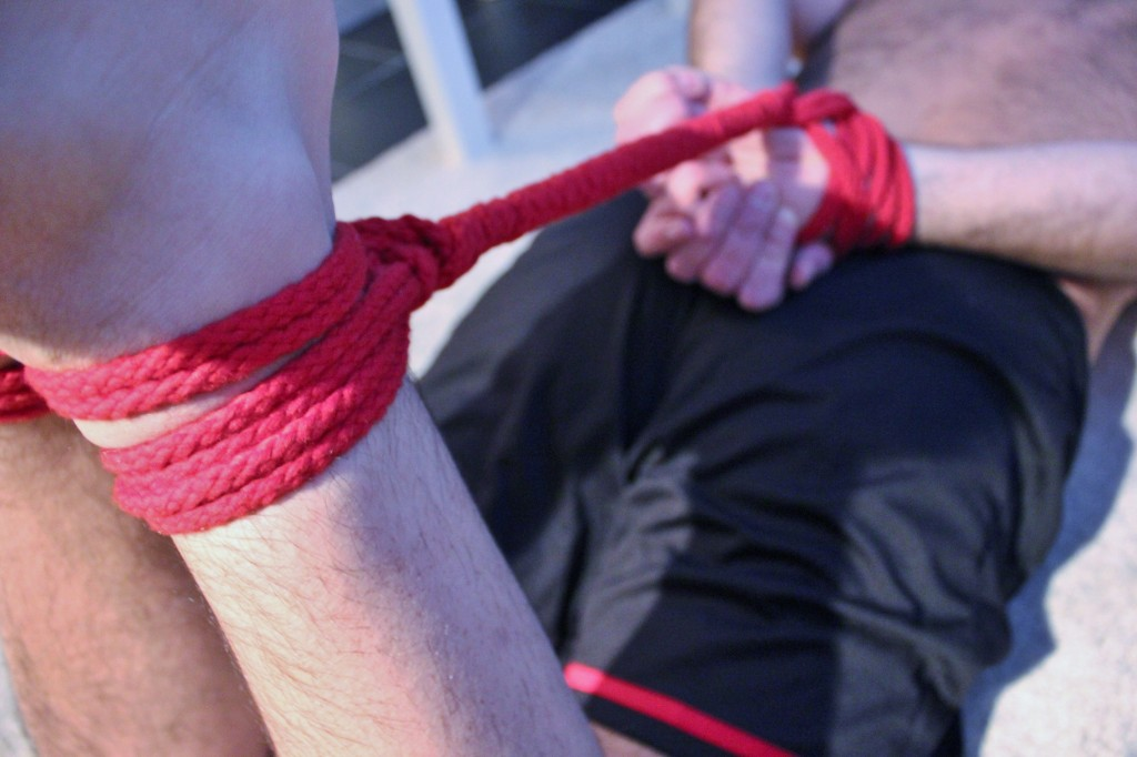 s tied up